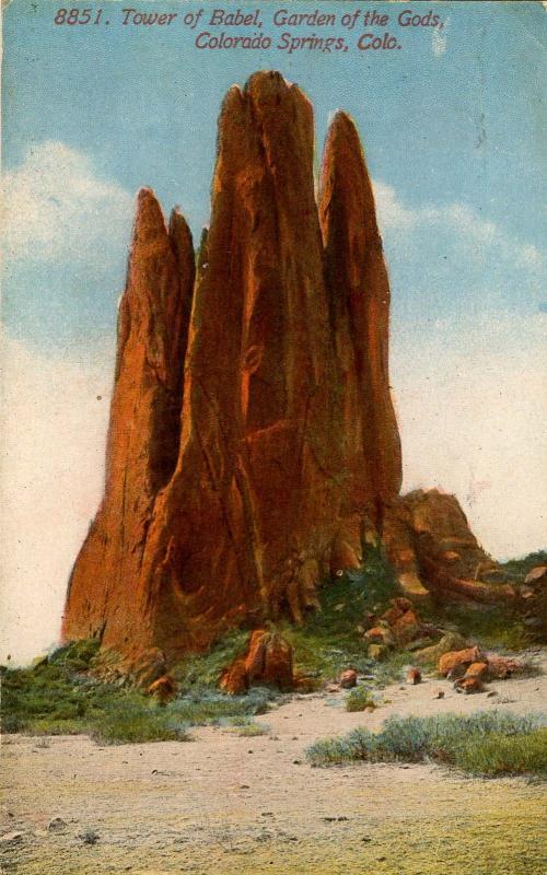 CO - Colorado Springs. Garden of the Gods, Tower of Babel