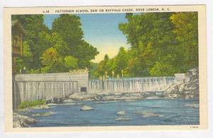 Patterson School Dam on Buffalo Creek, near Lenoir, North Carolina, 30-40s