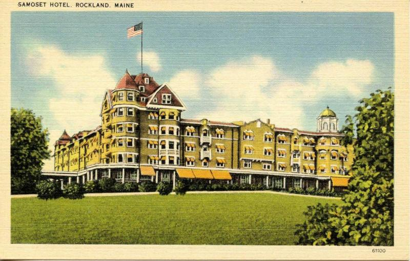 ME - Rockland. Samoset Hotel