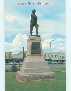 Pre-1980 MONUMENT SCENE Gonzales - Near Seguin Texas TX AE7369