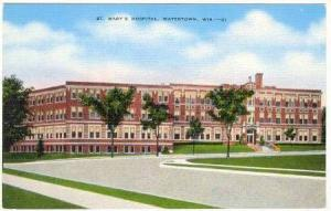 St. Mary's Hospital, Watertown, Wisconsin, 1930-1940s