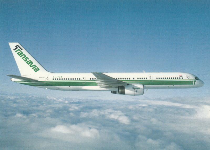 TRANSAVIA Boeing 757-200 Jet Airplane 80-90s