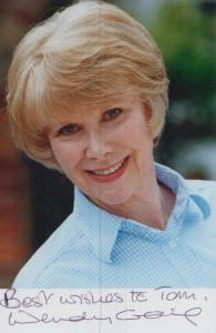 Wendy Craig Vintage Hand Signed Photo