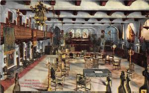 Riverside California~Glenwood Mission Inn-Music Room~Victorian Furniture~c1910