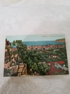 Antique Postcard from Italy, Sorrento - Panorama da S. Antonio