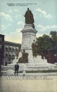 Montreal Canada, du Canada Monument Edward VII  Monument Edward VII