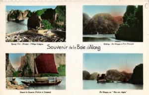 CPA Vietnam Indochine TONKIN - Souvenir de la Baie d'Along (62848)