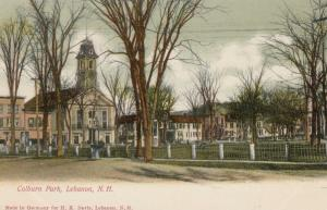 LEBANON , New Hampshire , 1901-07 ; Colburn Park