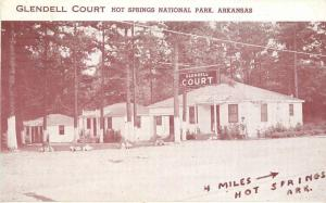 1951 Glendell Court Hot Springs Park Arkansas Roadside West End Press 12150