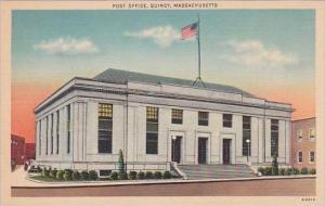 Massachusetts Quincy Post Office 1982