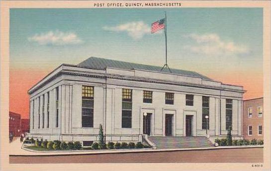 Massachusetts Quincy Post Office 1982