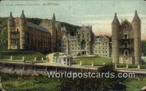 Montreal Canada, du Canada Royal Victoria Hospital  Royal Victoria Hospital