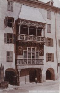 Austria Innsbruck Goldenes Dachl Real Photo