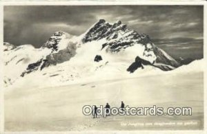 Die Jung Vom Jungfraunfirn Aus Geshen Ski, Skiing Unused corner and edge wear