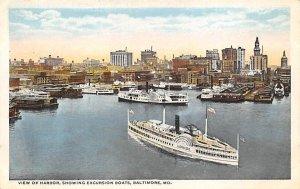 Harbor Baltimore, Maryland MD