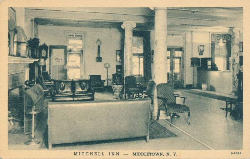 Interior Mitchell Inn - Middletown, Orange County NY, New York