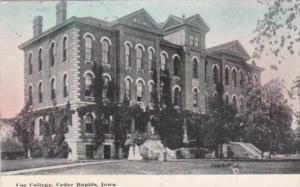 Iowa Cedar Rapids Coe College 1913
