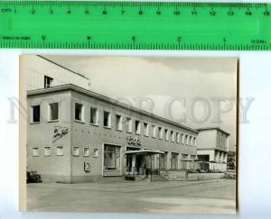 213161 GERMANY Rathenow cafe old miniature photo card