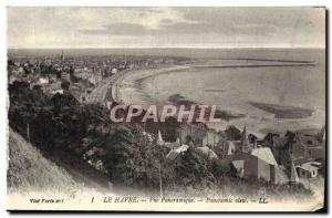 Old Postcard Le Havre Panoramic
