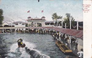 SYRACUSE, New York, PU-1915; The Lagoon At White City
