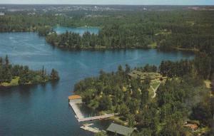 Scenic view,  Devil's Gap Lodge,  Kenora, Ontario, Canada, 40-60s