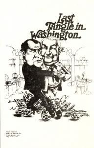 Last Tangle in Washington Nixon Tapes Sam Ervin Postcard