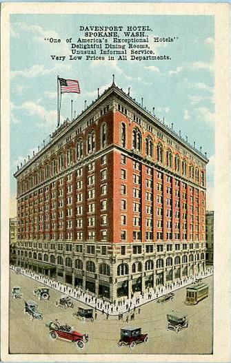 WA - Spokane, Davenport Hotel