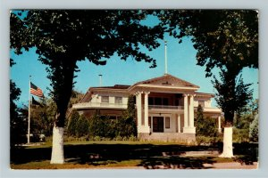 Carson City NV- Nevada, The Governor's Mansion, Chrome Postcard