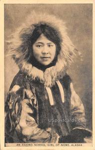 Eskimo School Girl