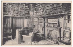Selkirkshire; The Study at Abbotsford PPC, Unposted, c 1910's By Valentines