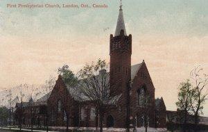 LONDON, Ontario, Canada, PU-1911; First Presbyterian Church