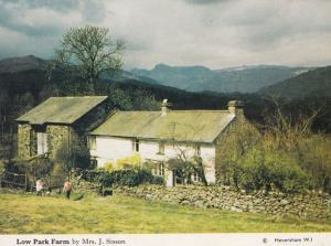 Low Park Farm Heversham Cumbria Womens Institute Postcard