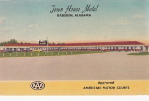 GADSDEN, Alabama, PU-1953; Town House Motel, U.S. 241