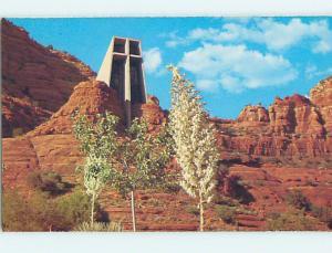 Unused Pre-1980 CHURCH SCENE Sedona Arizona AZ L3175