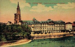 France Strasbourg Cathédrale et Palais des Rohan 03.37