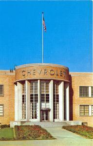 Flint MI General Motors Corp. Offices Chevrolet Postcard