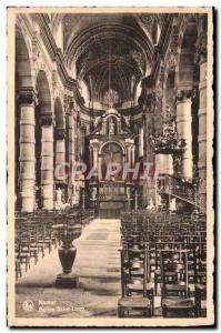 Old Postcard Namur Eglise Saint Loup