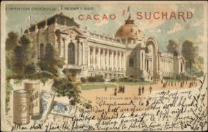 1900 Paris Expo Universelle Petit Palais des Beaux - Chocolat Suchard USED PC