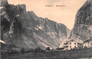 Norway Old Vintage Antique Post Card Horgheim Romsdalen Unused