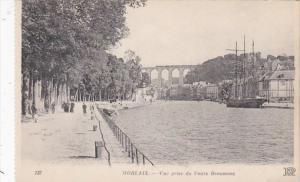 France Morlaix Vue prise du Cours Beaumont
