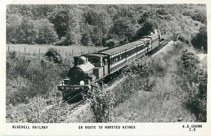 RPPC of the Bluubell Railway en Route to Horsted Keynes UK