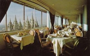 Utah Salt Lake City The Hotel Utah Sky Room This Magnificent Dining Room