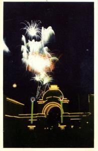 Denmark - Copenhagen. Fireworks, Entrance to Tivoli Gardens