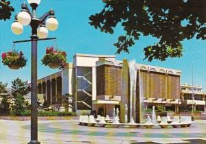 Canada Vancouver Centennial Fountain In Centennial Square