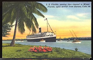 SS Florida in Miami