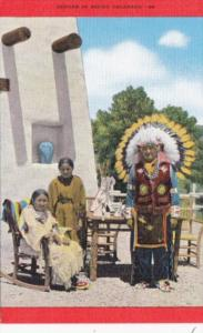 Colorado Typical Indian Family