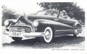 1947 Buick Road master Convertible Coupe Automotive, Autos, Cards Old Vintage...