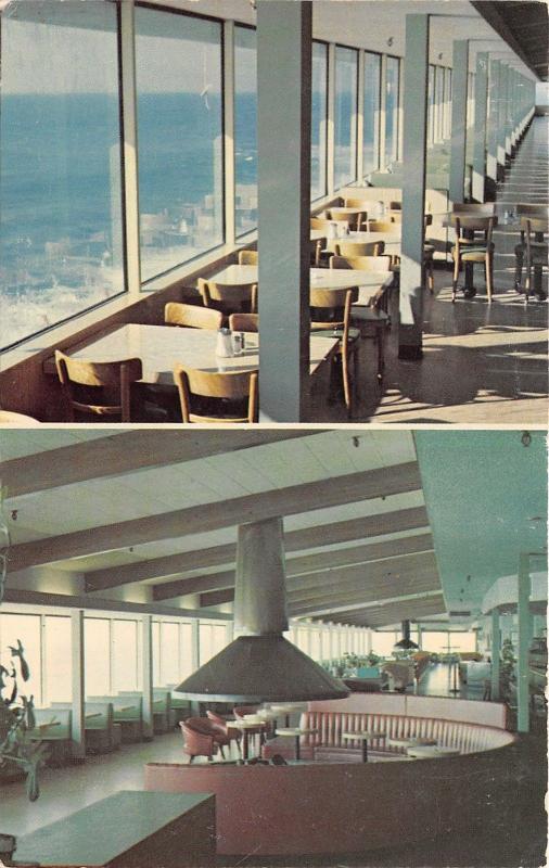 Malibu California~Malibu Sea Lion Restaurant (Fish House)~2 Views~1960-70s Pc