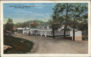 Mamaroneck Long Island NY Lawrence's Inn Exterior c1920 Postcard
