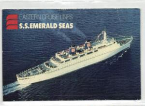 Eastern Cruise Lines STEAMER S.S. Emerald Seas (1988)
